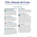 Organizations and Resources on Creation Care/Laudato Si'